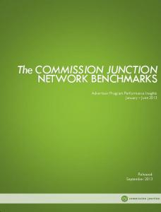 The COMMISSION JUNCTION NETWORK BENCHMARKS