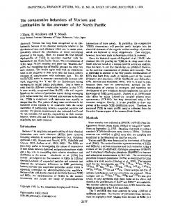 The comparative behaviors of yttrium and ... - Wiley Online Library