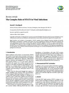 The Complex Role of STAT3 in Viral Infections