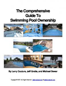 The Comprehensive Guide To Swimming Pool ... - ECOsmarte