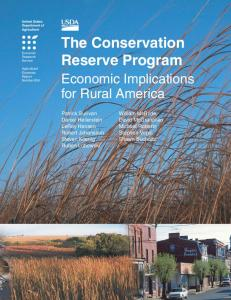 The Conservation Reserve Program: Economic Implications for Rural ...
