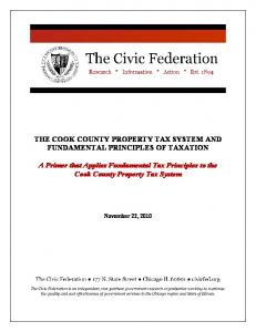 THE COOK COUNTY PROPERTY TAX SYSTEM AND ...