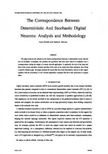 The Correspondence Between Deterministic And