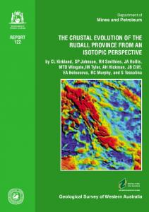 The crustal evolution of the Rudall Province from an ...