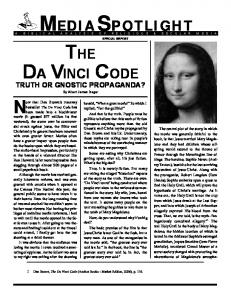 THE DA VINCI CODE - Media Spotlight