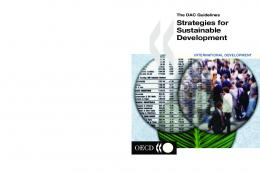 The DAC Guidelines - Strategies for Sustainable Development ...