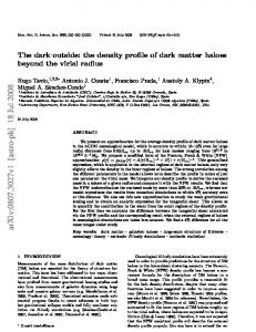 The dark outside: the density profile of dark matter haloes beyond the ...