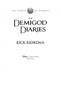 The Demigod Diaries - Readers StuffZ