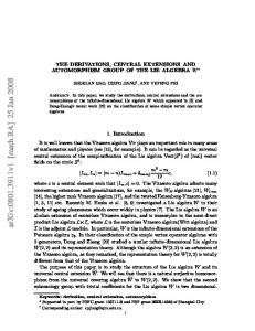 The derivations, central extensions and automorphism group of the Lie ...