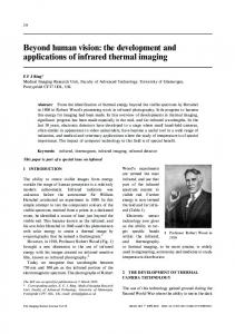 the development and applications of infrared thermal imaging
