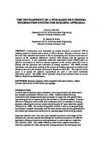 the development of a web based multimedia information system for