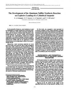 The Development of the Aluminum Sulfide Synthesis ... - Springer Link