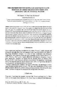 The distribution of dissolved and particulate mercury in ... - Springer Link
