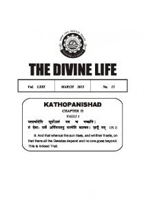 THE DIVINE LIFE - Divine Life Society