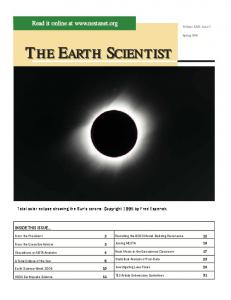 the earth scientist