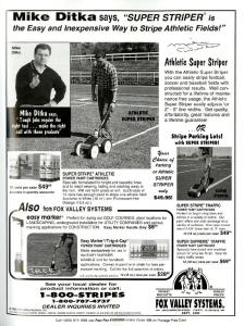 the Easy and Inexpensive Way to Stripe Athletic Fields!