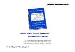 the ebook blueprint brand.wps - Weebly