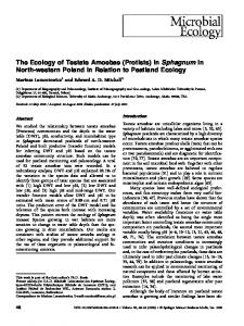 The Ecology of Testate Amoebae (Protists) in ... - Springer Link
