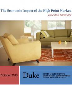 The Economic Impact of the High Point Market - Center on ...