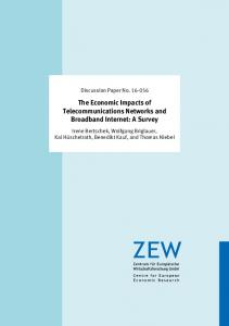 The Economic Impacts of Telecommunications Networks and ...