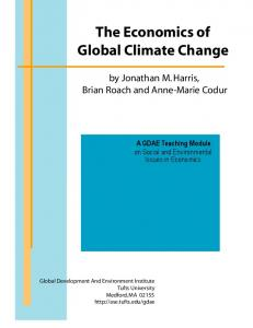 The Economics of Global Climate Change - Tufts ...