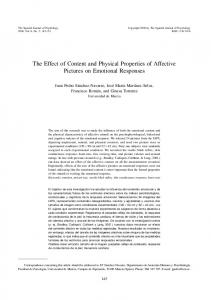The Effect of Content and Physical Properties of ... - Semantic Scholar