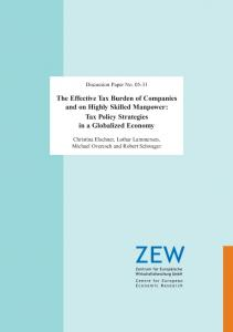 The Effective Tax Burden of Companies and on Highly Skilled ...