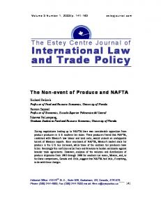The Effects of Biotechnology Policy on Trade and ... - AgEcon Search