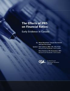 The Effects of IFRS on Financial Ratios: Early ...