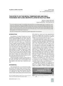 the effects of the metal temperature and wall ... - Semantic Scholar