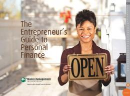 The Entrepreneur's Guide to Personal Finance - Money ...