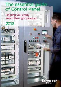 The essential guide of Automation & Control - Schneider ... on