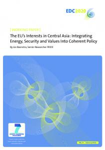 The EU's interests in Central Asia: Integrating energy, security and ...