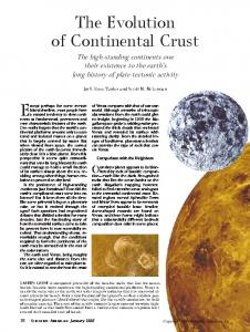 The evolution of continental crust