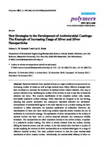 The Example of Increasing Usage of Silver and Silver Nanoparticles