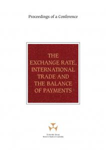 The Exchange Rate, International Trade and the Balance of Payments ...