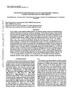 The extended Northern ROSAT Galaxy Cluster Survey (NORAS II) I ...