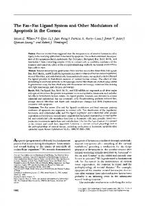 The Fas-Fas Ligand System and Other Modulators of ... - CiteSeerX