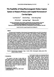 The Feasibility of Using Electromagnetic Motion Capture System to