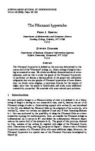 The Fibonacci hypercube - The Australasian Journal of Combinatorics