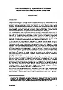 The financial stability implications of increased capital flows for ...