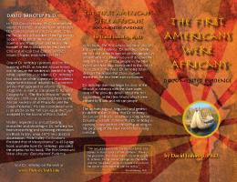 The First Americans were Africans - HistoricTruth.Info