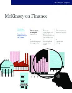 The five types of successful acquisitions - McKinsey & Company