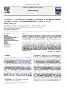 The floodplain large-wood cycle hypothesis - Earth and Space ...