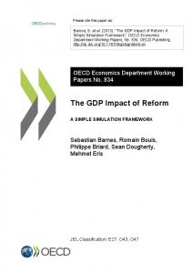The GDP Impact of Reform