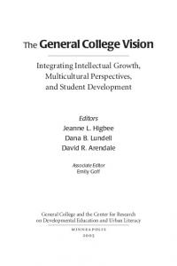 The General College Vision