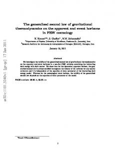 The generalized second law of gravitational thermodynamics on the ...