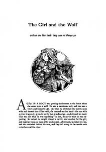 The Girl & the Wolf