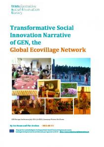The Global Ecovillage Network