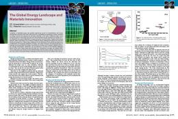 The Global Energy Landscape and Materials Innovation